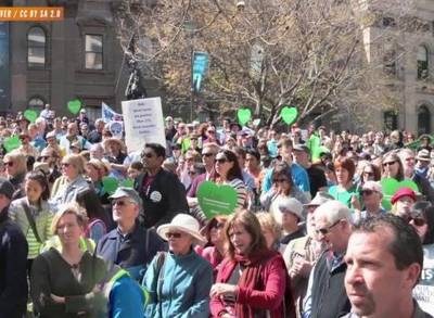 News video: Will Climate Rallies Spur Change?