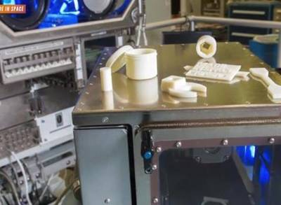 News video: 3-D Printing Enters the Final Frontier
